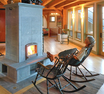 Tulikivi Soapstone Fireplaces - Boulder County Fort Collins CO