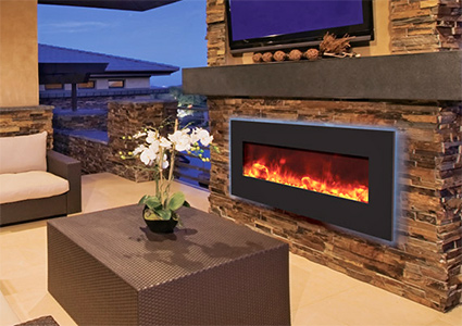 Electric Fireplaces & Fireplace Inserts | Electric Heating ...