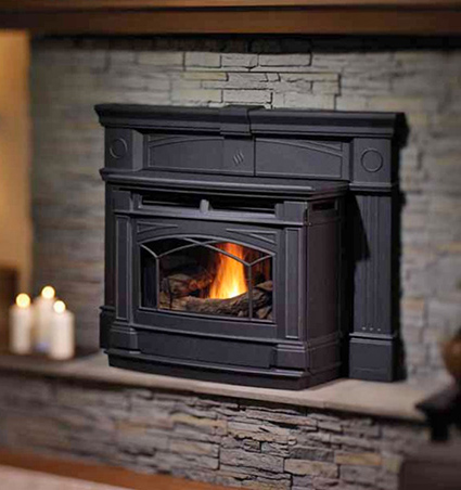 pellet fireplace inserts pellet burning inserts wood. Black Bedroom Furniture Sets. Home Design Ideas