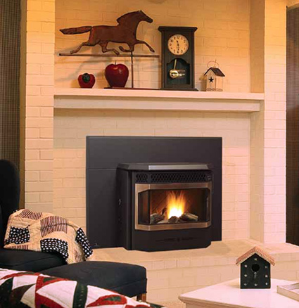 Pellet Fireplace Inserts | Pellet Burning Inserts | Wood ...