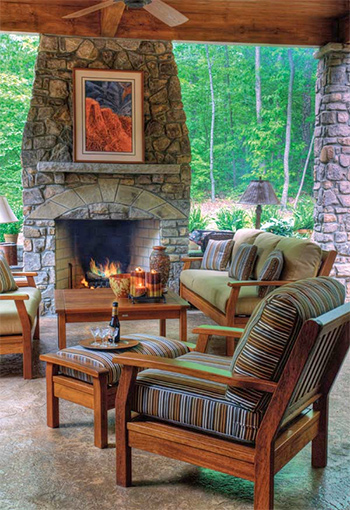 Custom Outdoor Fireplaces - Fort Collins CO