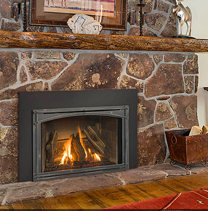 Gas Fireplace Inserts Modern Gas Burning Inserts Fort