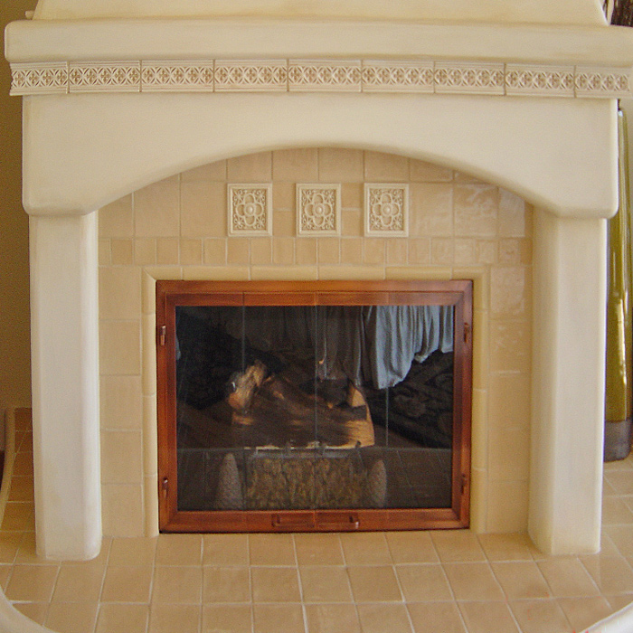 Fireplace, mantel, and surround installed in Livermore CO