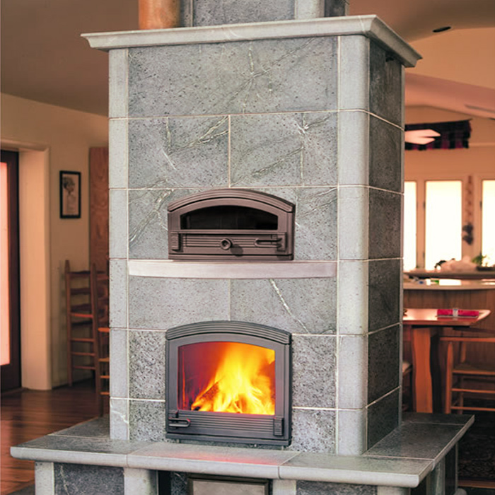 Custom Installation of Tulikivi Fireplaces in Southern Wyoming