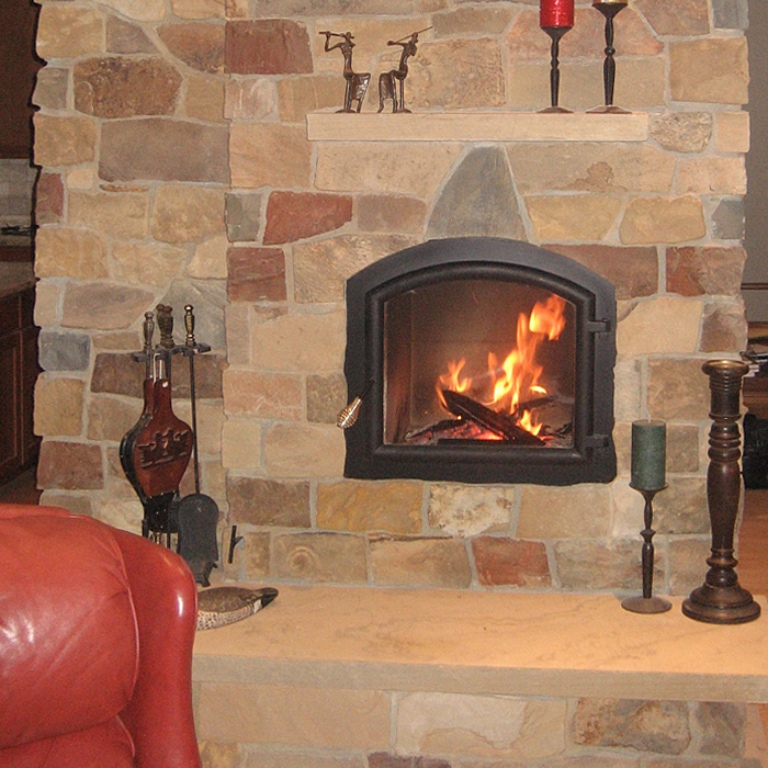 Stunning Arched Fireplace from Fort Collins CO Fireplace Store