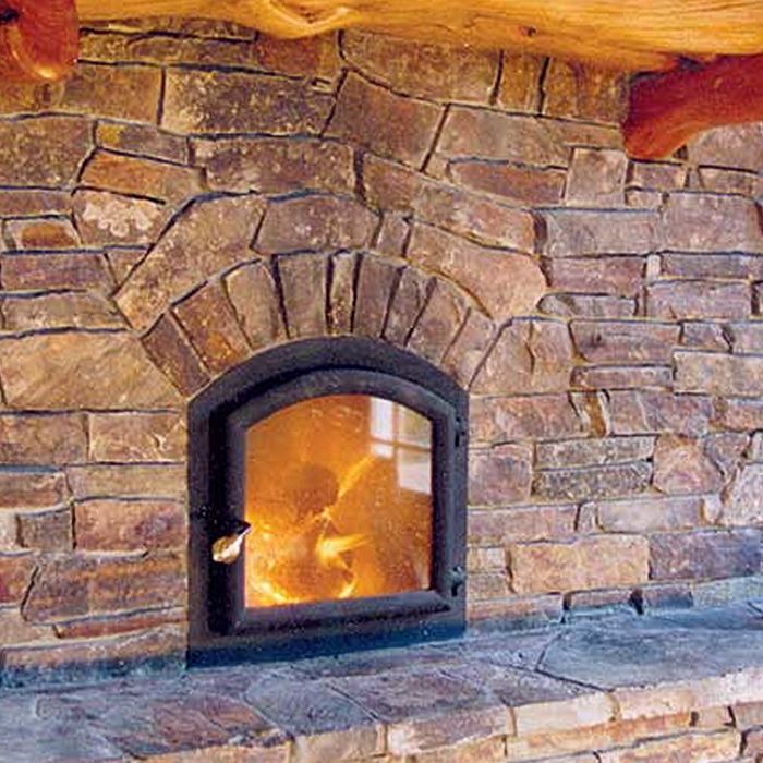 Custom Installation of Temp-Cast Masonry Heater - Boulder CO