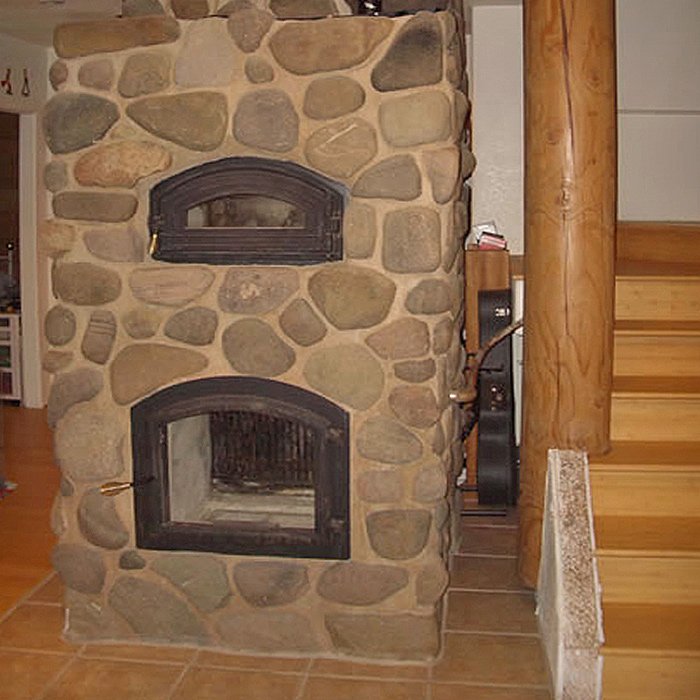 Temp-Cast Fireplace Installation Northern Colorado