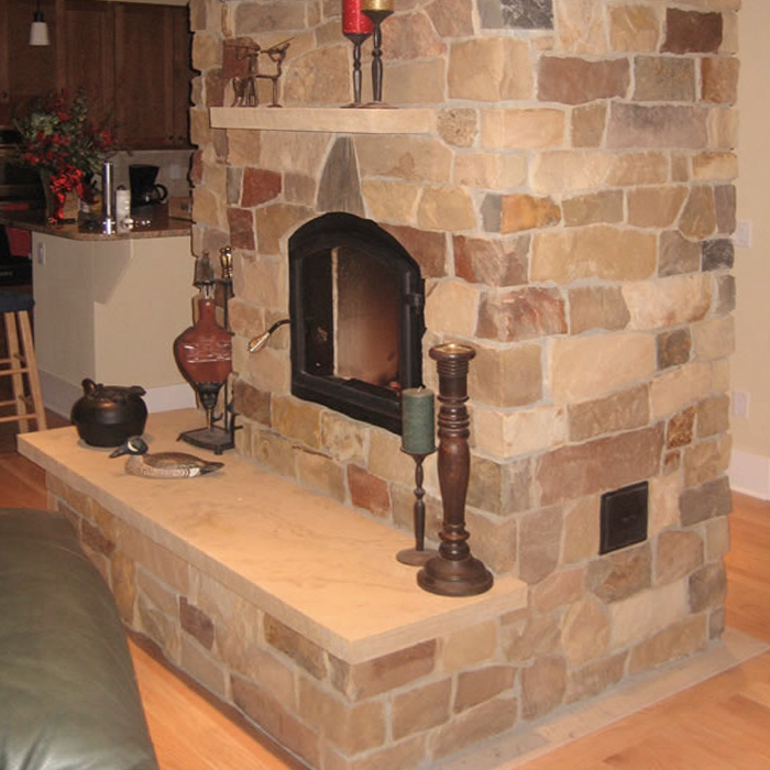 Fort Collins Hearth Store installed this fireplace & surround - Loveland CO