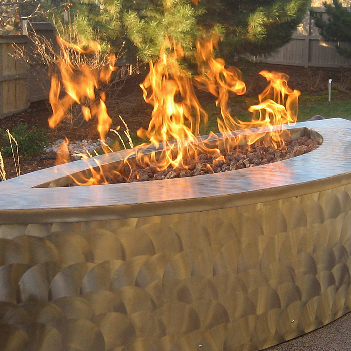 Boulder County CO Gas Fire Pits