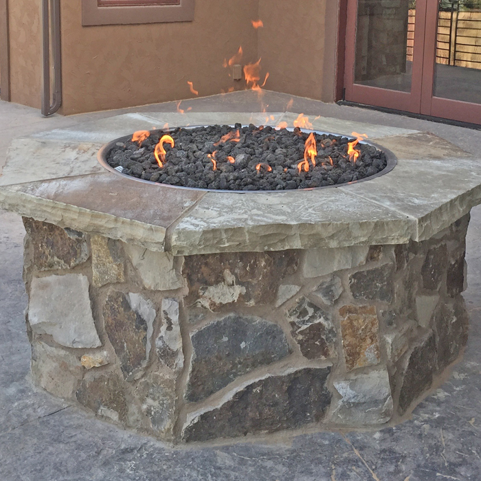 firepits patio installed in johnstown co and berthold