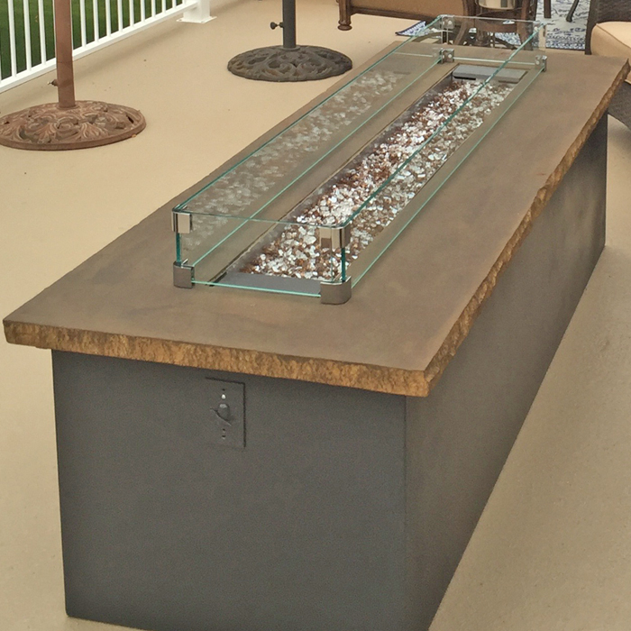 Timnath CO and Berthold gas firepit installations