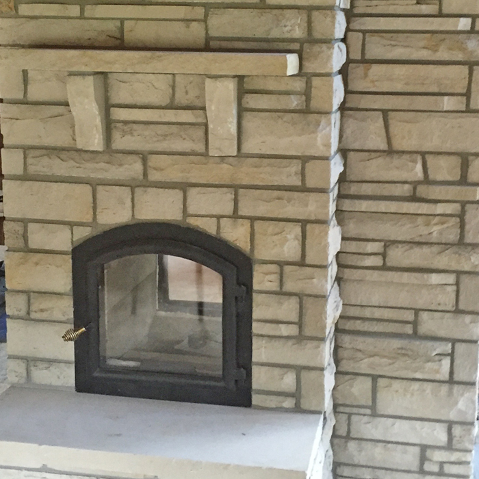 insert fireplace installed near loveland and greeley co