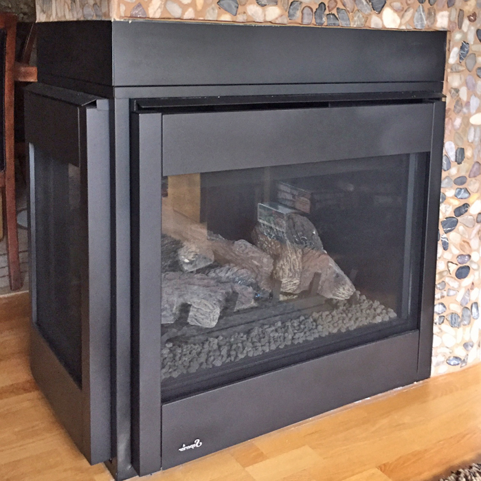 gas fireplace installation boulder county near severance co
