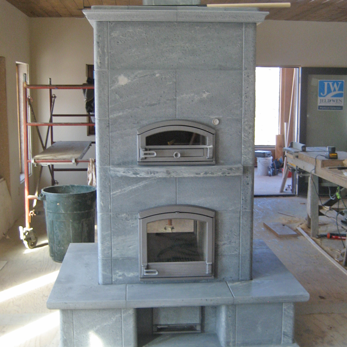 new tulikivi fireplace in loveland and windsor co