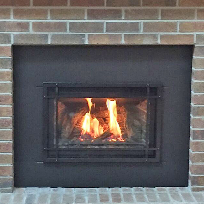 wood insert installed near estes park and berthold co