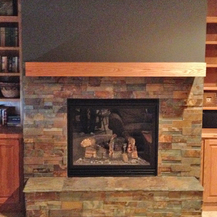 longmont near severance co installed electric fireplace