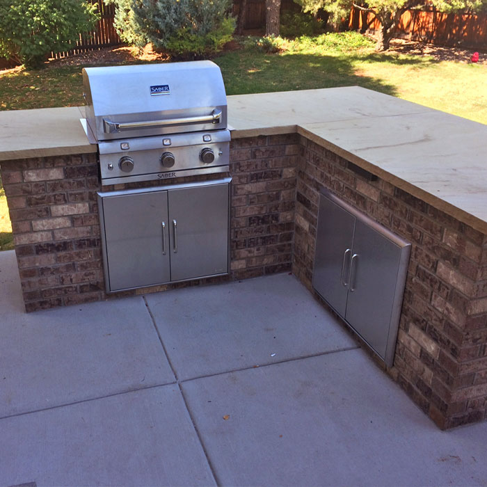 outdoor counter in Thornton CO