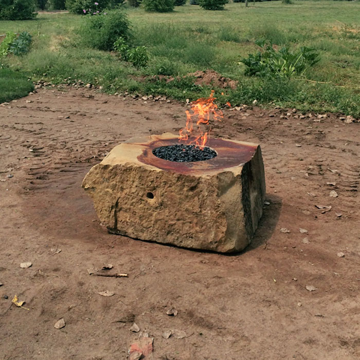 outdoor firepit in Broomfield CO