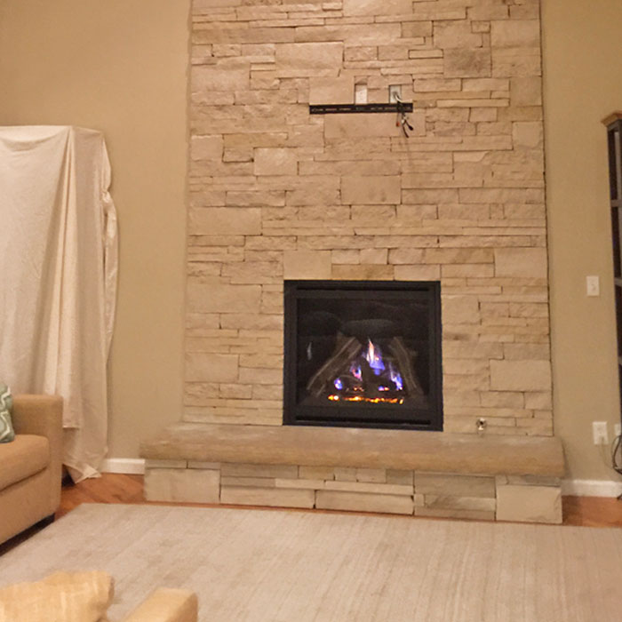 fireplace insert installed in Livermore CO