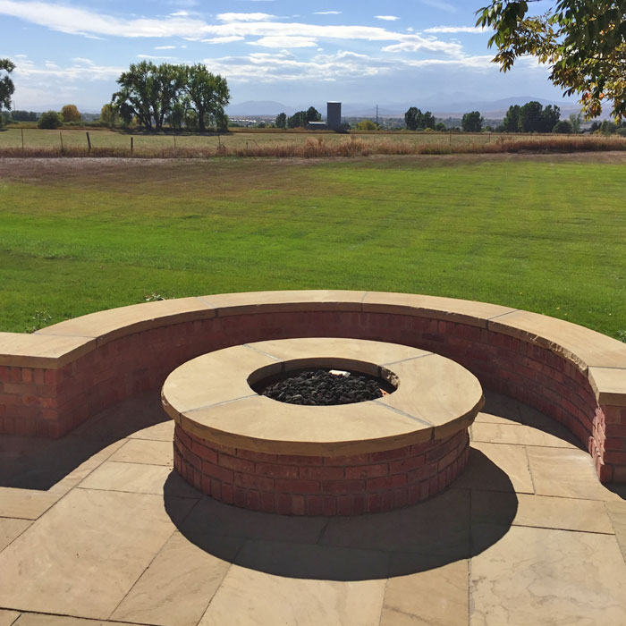 large outdoor firepit Longmont CO