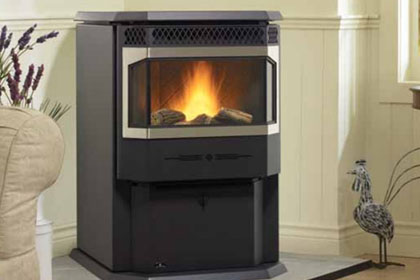 High efficiency pellet heating stoves in Boulder County
