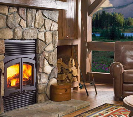 Wood Fireplace Installations - Custom Wood Fireplaces - Fort Collins CO