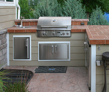 Outdoor Grill Set - Laramie WY