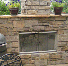 Custom Built Outdoor Fireplaces in Boulder County CO