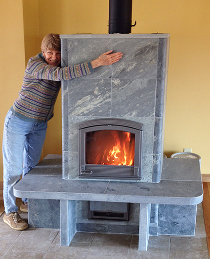 Fort Collins CO Installation of Tulikivi Soapstone Fireplace