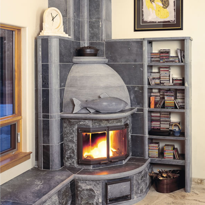 Tulikivi Masonry Heater - Colorado