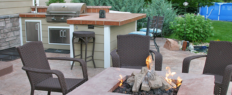 Gas Fire Tables & Outdoor Fire Features - Fort Collins CO