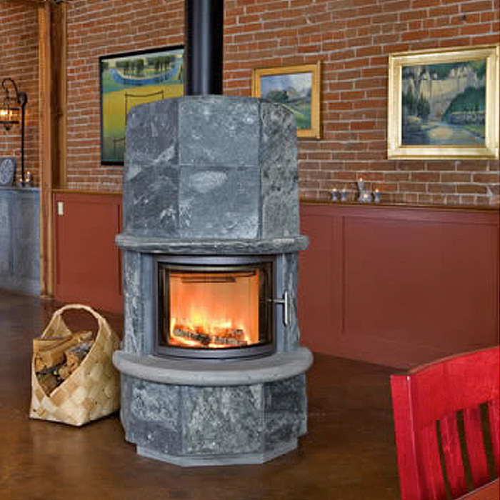 Tulikivi Masonry Fireplace - Arizona Dealer
