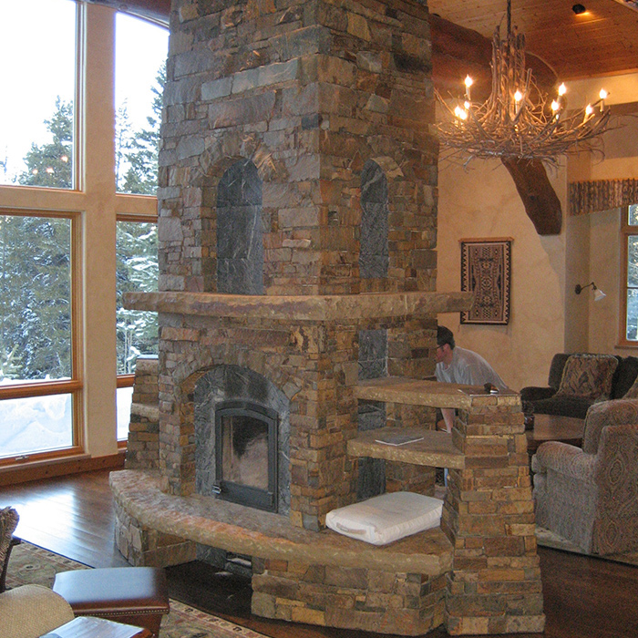 Wood Fireplace installed by hearth store pros from Fort Collins CO