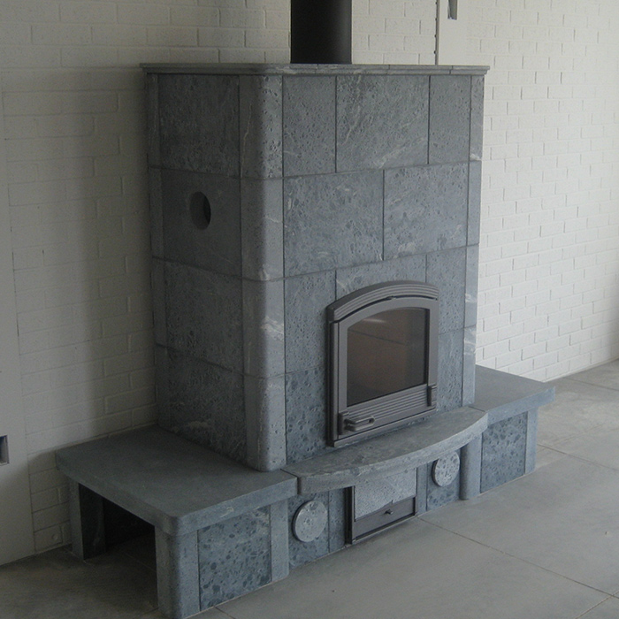 Tulikivi Fireplace in New Mexico