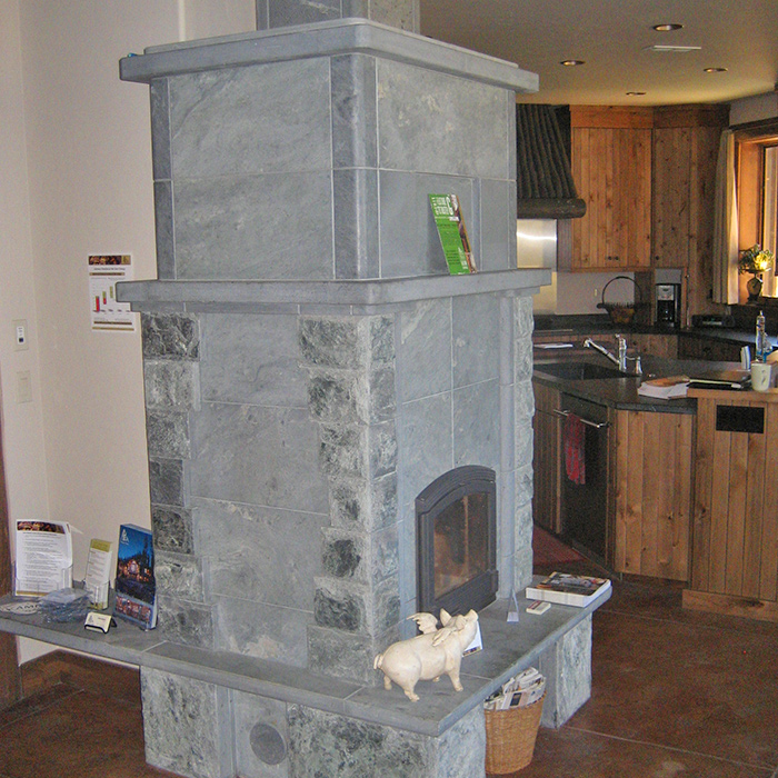 Colorado Installation of a Tulikivi Masonry Heater