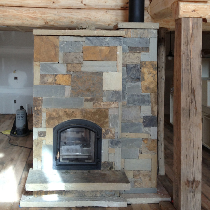 Estes Park CO Temp-Cast Fireplace