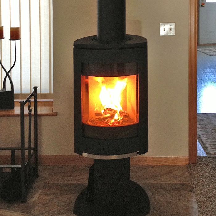 Top rated wood stove - Installed in Estes Park CO