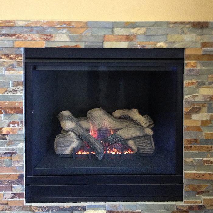 Zero Clearance Gas Fireplace - Installations in Bellvue CO