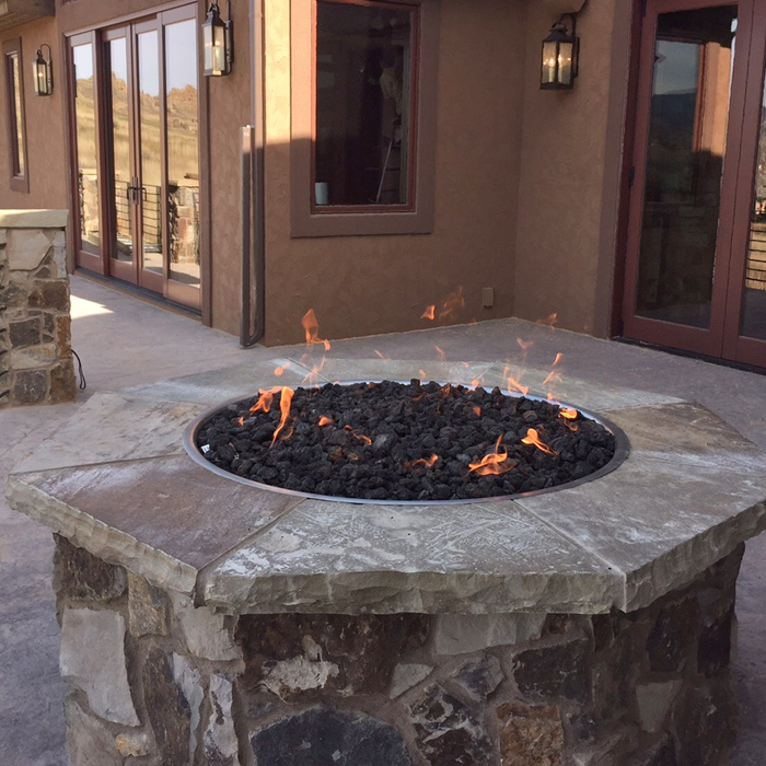 firepits installed loveland and boulder co