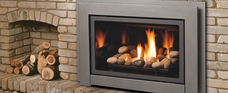 Modern gas fireplaces - Boulder County