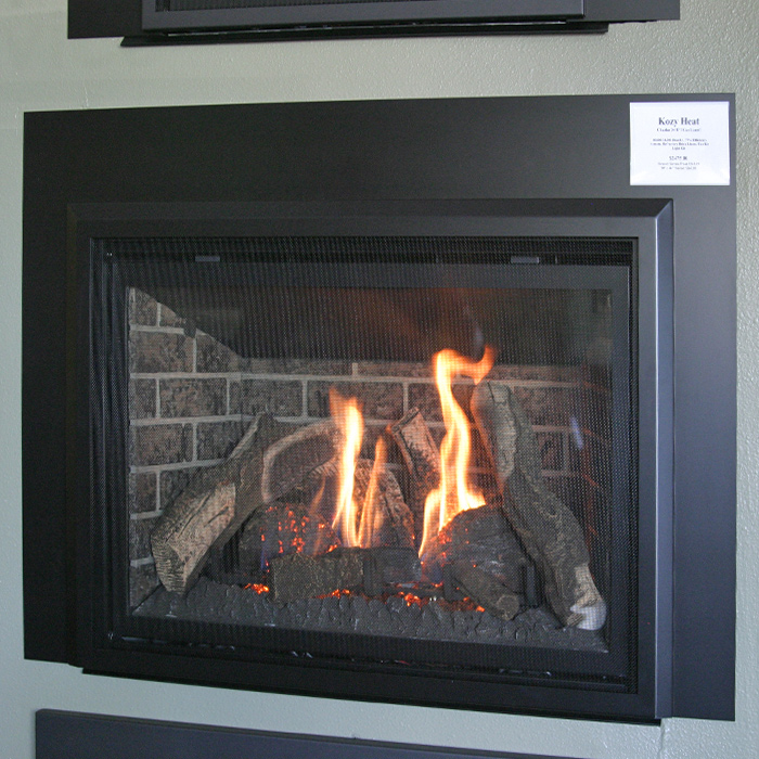 Great selection of Gas Fireplaces - Boulder CO