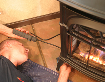 Installing a Gas Stove at home in Fort Collins Boulder CO
