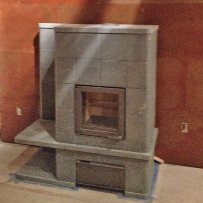 newly installed tulikivi fireplace wellington co near weld county