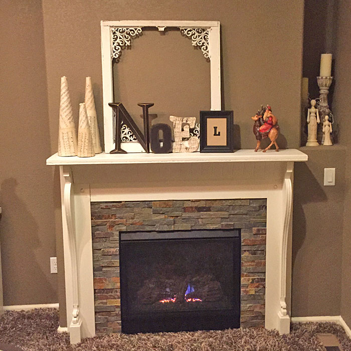 new fireplace in Wellington CO