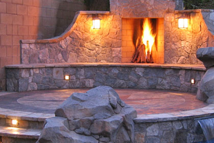 Outdoor fireplace installations - Boulder CO