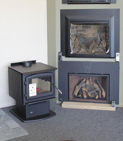 big fireplace showroom in Boulder CO