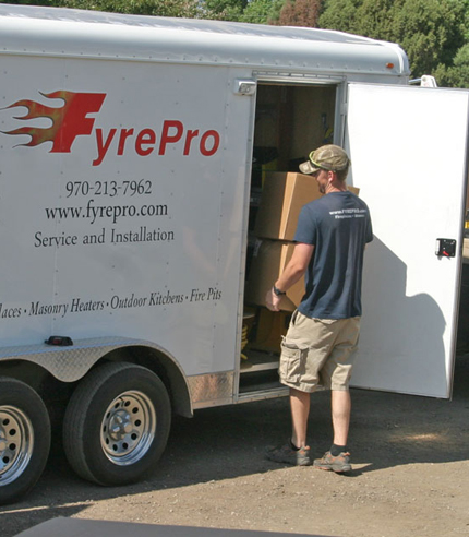 Our professional installing fireplaces and stoves
