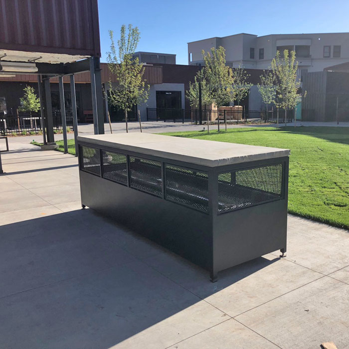 new firepit for downtown FTC Fort Collins CO