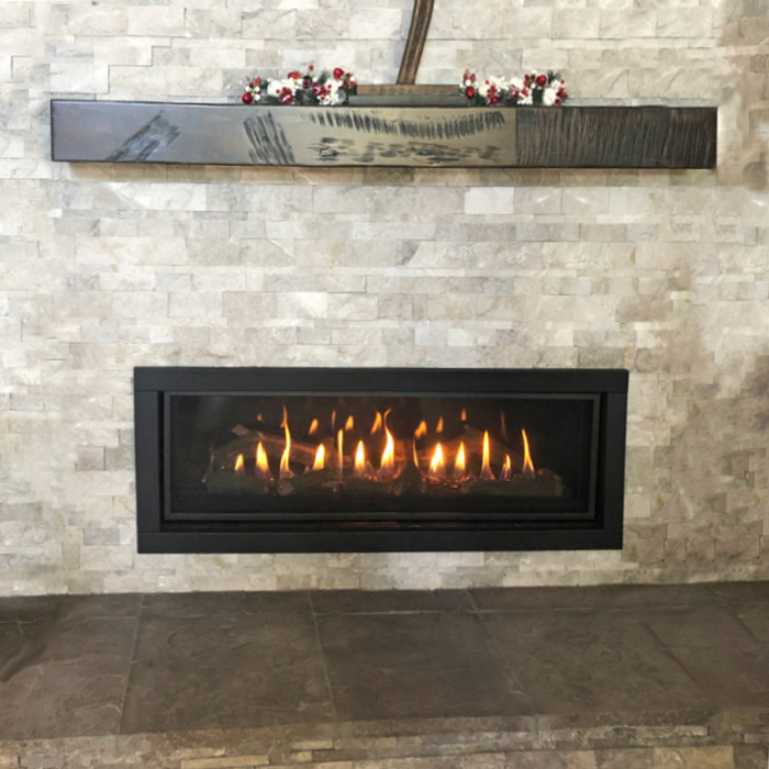 Fireplace insert in Boulder CO